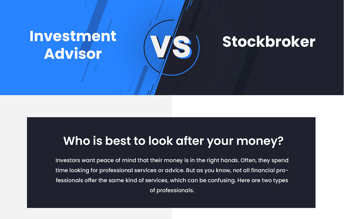 Investment Advisor vs. Stockbroker